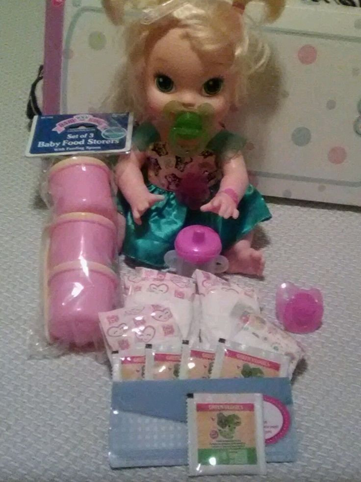 BABY ALIVE REFILL PK  DIAPERS , FOOD W CUP PACI & STORAGE BOWLS PINK:NO DOLL in Dolls & Bears, Dolls, Dolls-Interactive, Baby Alive | eBay
