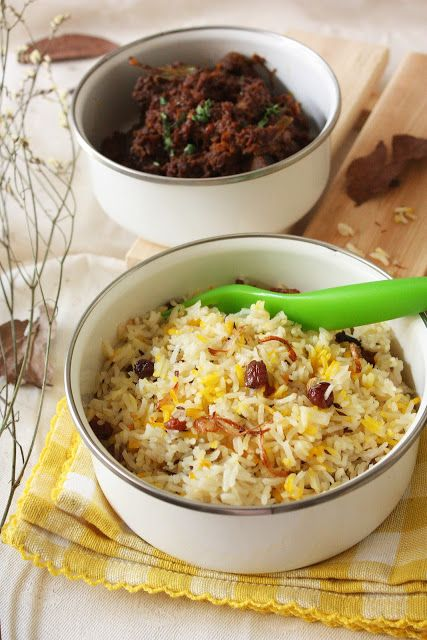 Cherry on a Cake: MEAT AND RICE BIRYANI