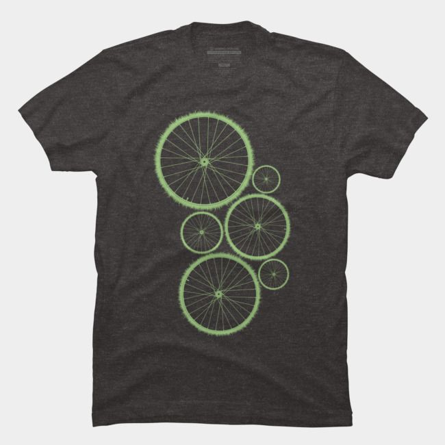 Drive green, vollective t-shirt. #dbh #collective #tshirt #bicycle #bike #nature #adventure #outdoors #apparel #menswear