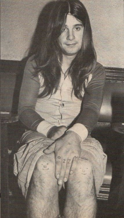 A very, very young Ozzy
