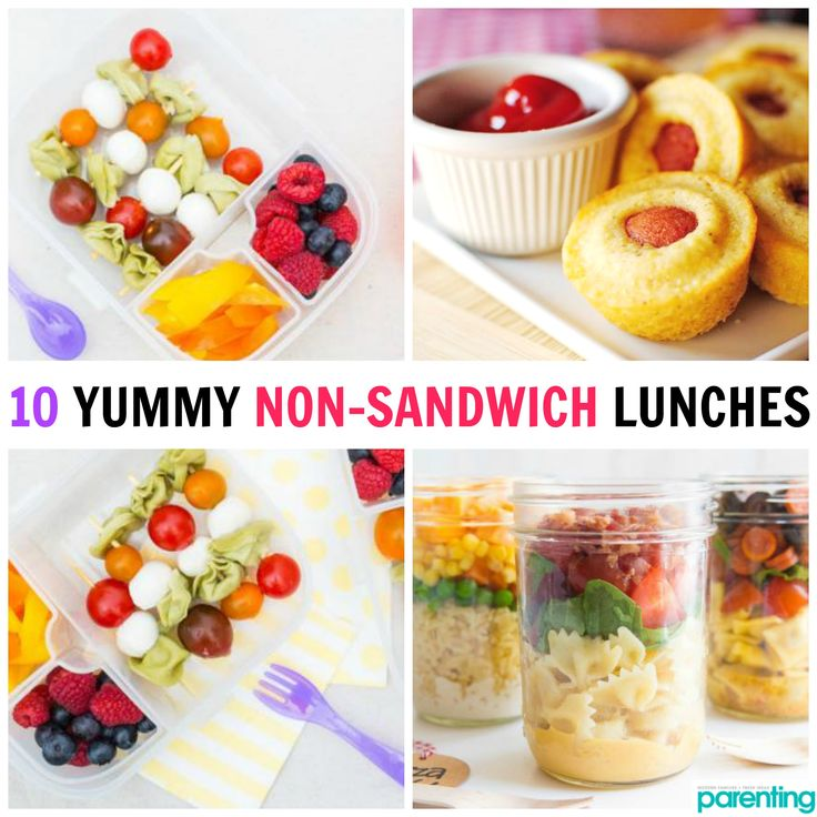 Tired of packing the same boring sandwich for lunch? Here are some non-sandwich lunch ideas that are tasty and satisfying—perfect for you, your hubby or your kid! :)