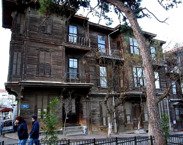 wooden houses of Heybeliada - Heybeliada, Istanbul