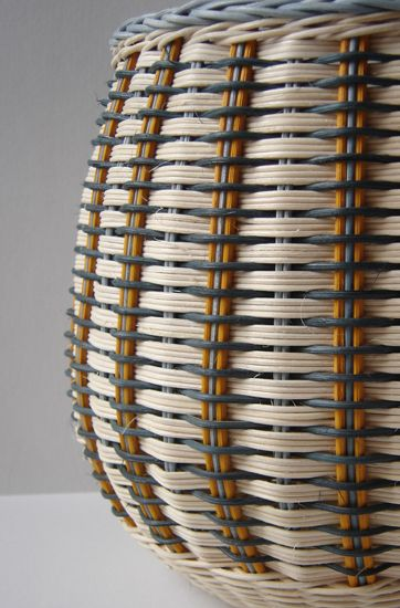 Basket by Gail Romanes, exhibited at the Kingsgate Workshop in 2012