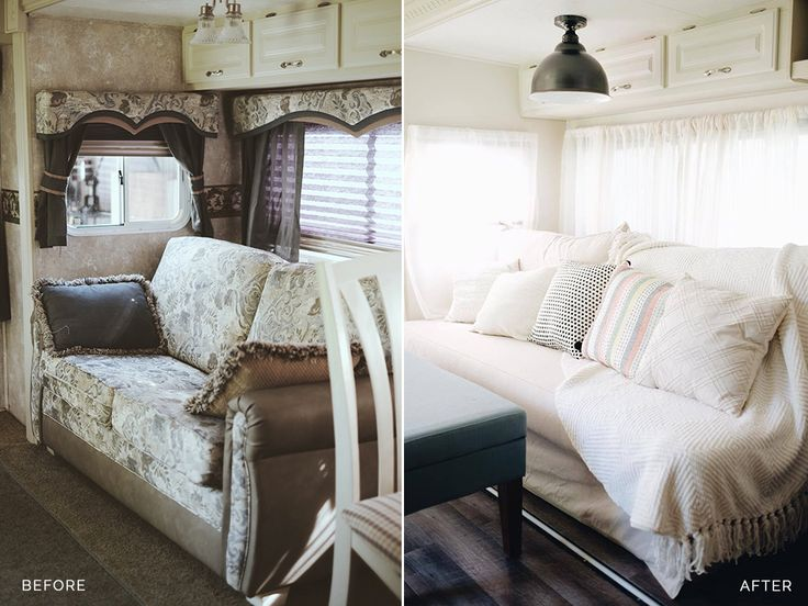rv makeover before after | totally trailer | pinterest | rv, rv
