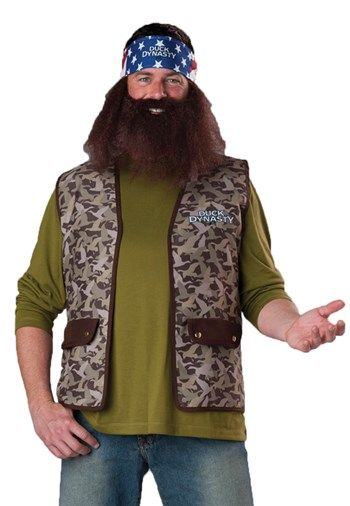 Nice Costumes Duck Dynasty Willie Costume just added...