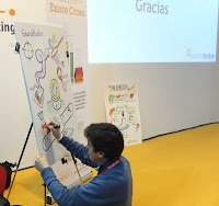 Graphic recording at OMEXPO 2012