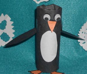 crafts ideas for toddlers toilet paper roll penguin craft project for 4146