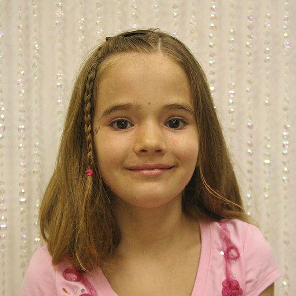shoulder length hair styles for kids