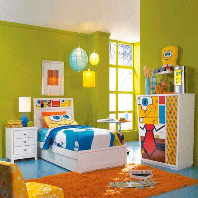DECORAR HABITACIONES CON BOB ESPONJA : DORMITORIOS: Decorar Dormitorios  Fotos De Habitaciones Recámaras Diseño Y