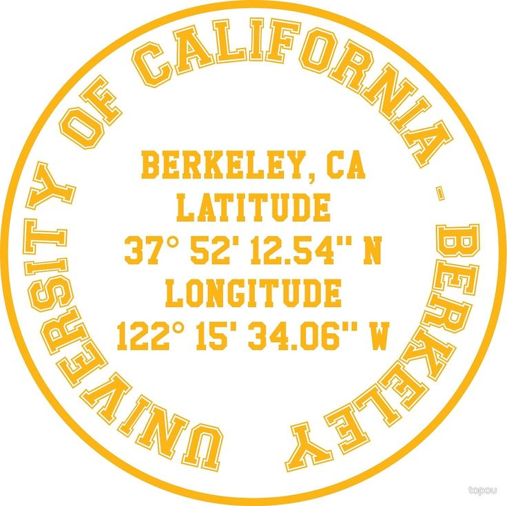 UC -  Berkeley Benchmark (yellow text) benchmark on t-shirts, lightweight hoodies, phone cases, laptop cases, laptop sleeves, throw pillows, tote bags, studio pouches, and stickers. Check out our selection!
