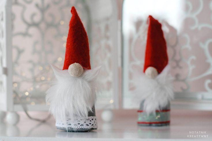 Skandynawski skrzat- Instrukcja+szablon #blog #skandynawski #skrzat #scandinavian #gnome #swedish #dwarf #diy #christmas #decor #dekoracje #świąteczne #zróbtosam