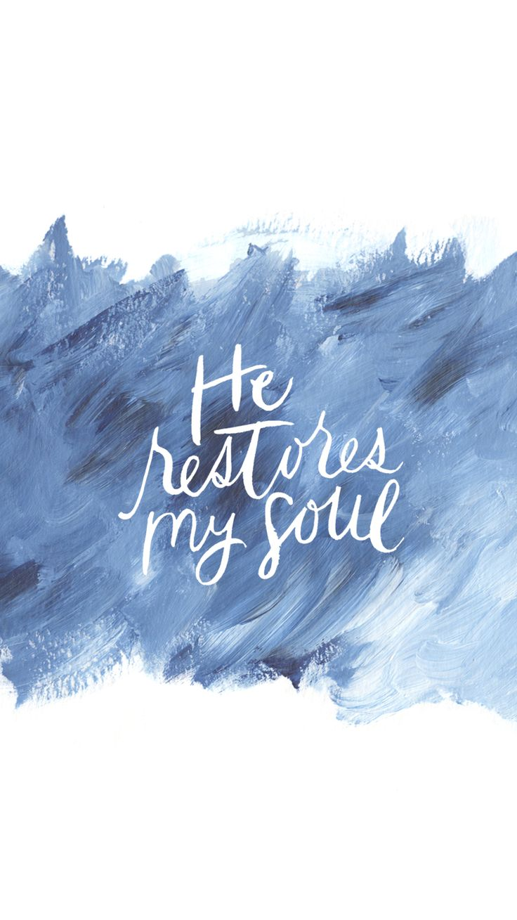 He restores my soul and no one can snatch me out of His hand! ❤️ great read!