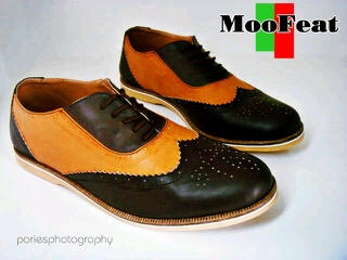 Moofeat Wingtip Leather all size