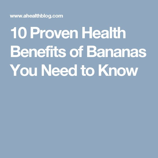 10 Proven Health Benefits of Bananas You Need to Know