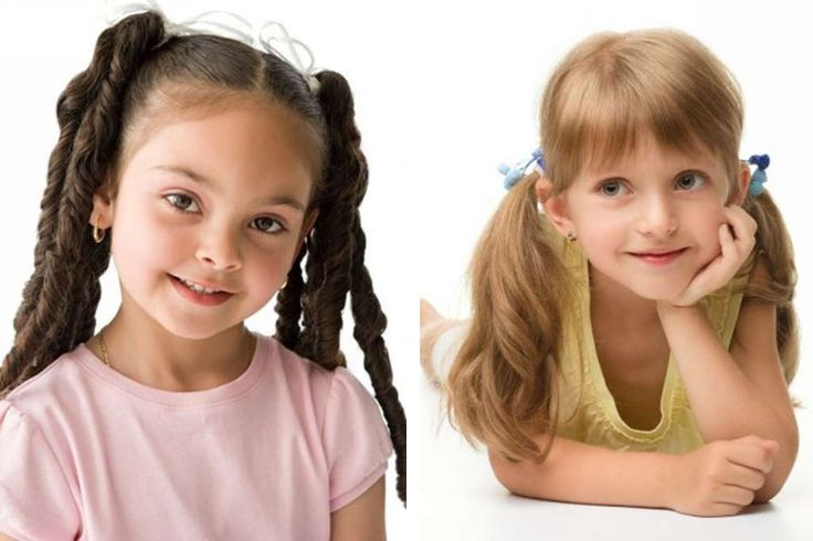 Kid graduation hairstyle - curly bunches :: one1lady.com :: #hair #hairs #hairstyle #hairstyles