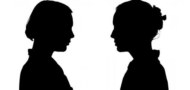 حوار بين شخصين عن الاخلاق موسوعة طيوف Human Silhouette Human People
