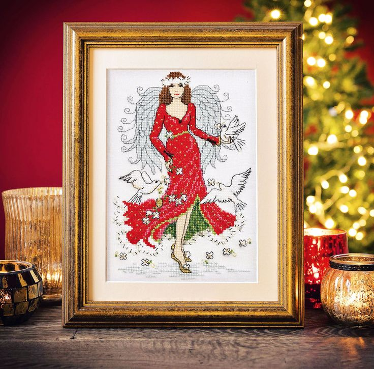 Angelic Beauty -  Available in Cross Stitch Crazy Christimas 2015 - issue 209
