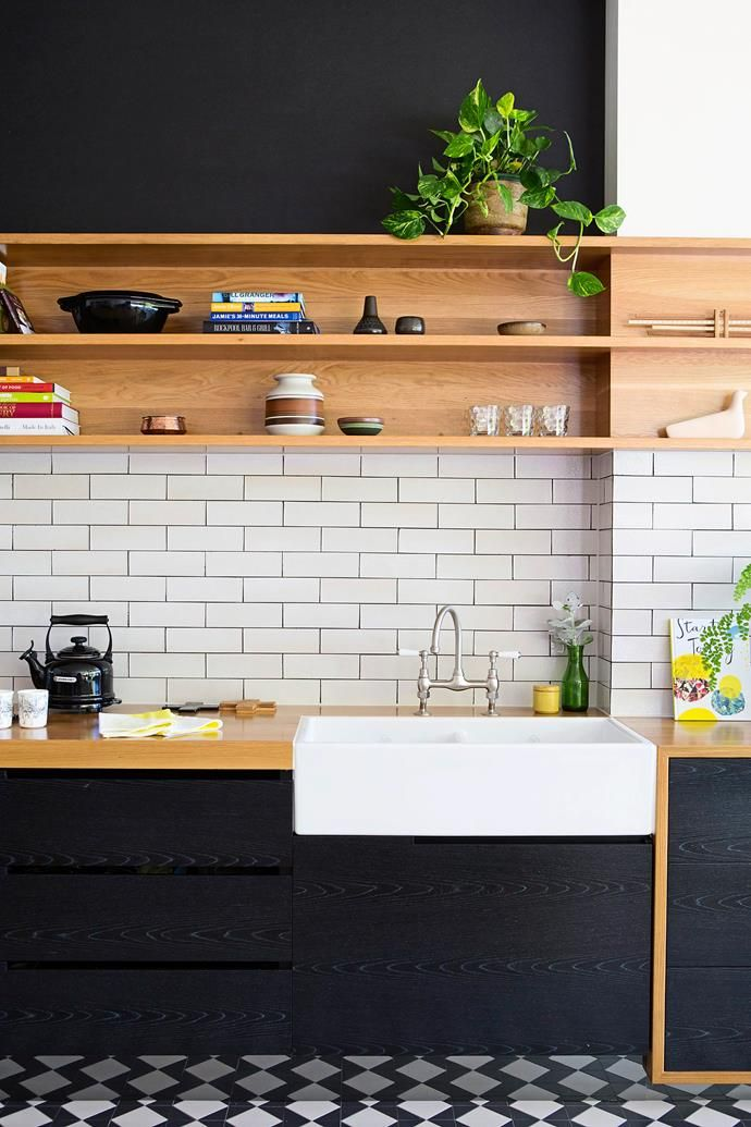 From @homestolove.com.au - a kitchen with style and colour.