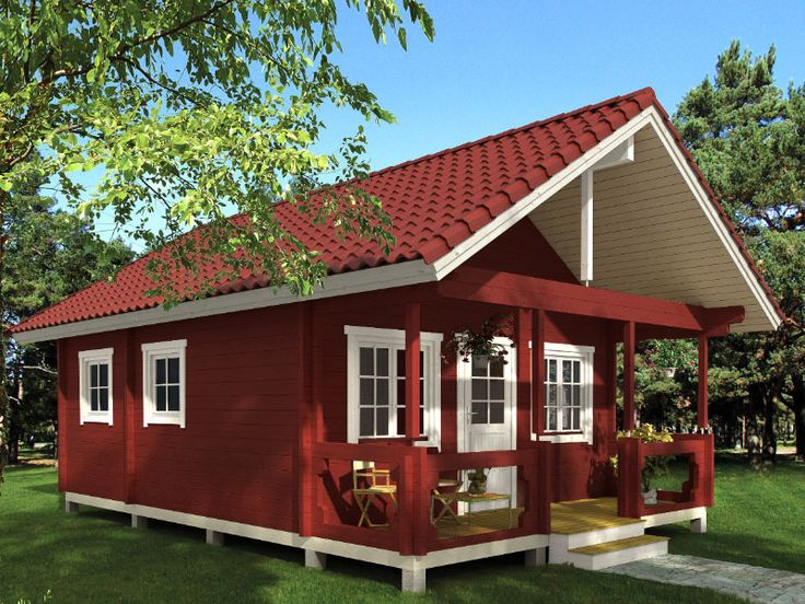 Timberline Cabin Kit *Loft Tiny house cabin, Building a