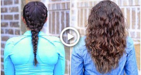 #hairstyles #braids #noheat #boxer #braid #curls