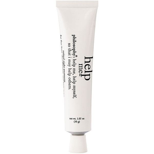 Women's Philosophy 'Help Me' Retinol Night Treatment (61 CAD) ❤ liked on Polyvore featuring beauty products, skincare, face care, beauty, fillers, makeup, no color, philosophy skin care, anti aging skin care and philosophy skincare
