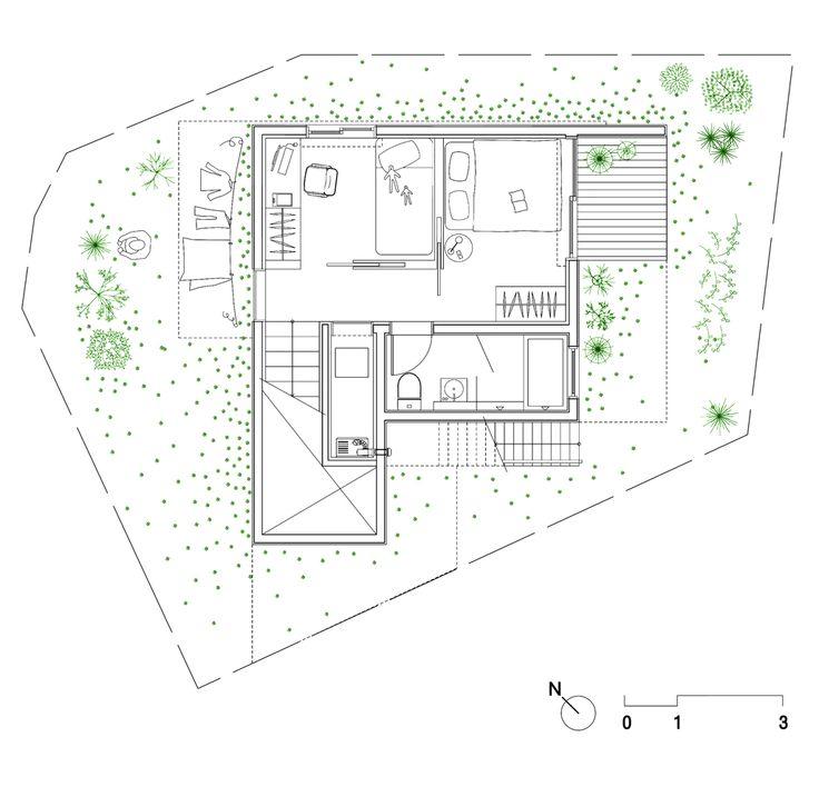 50m2 House,First Floor Plan