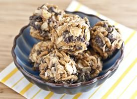 Pretty good little snack! Recipe makes 20 no bake cookies! Healthy Fiber