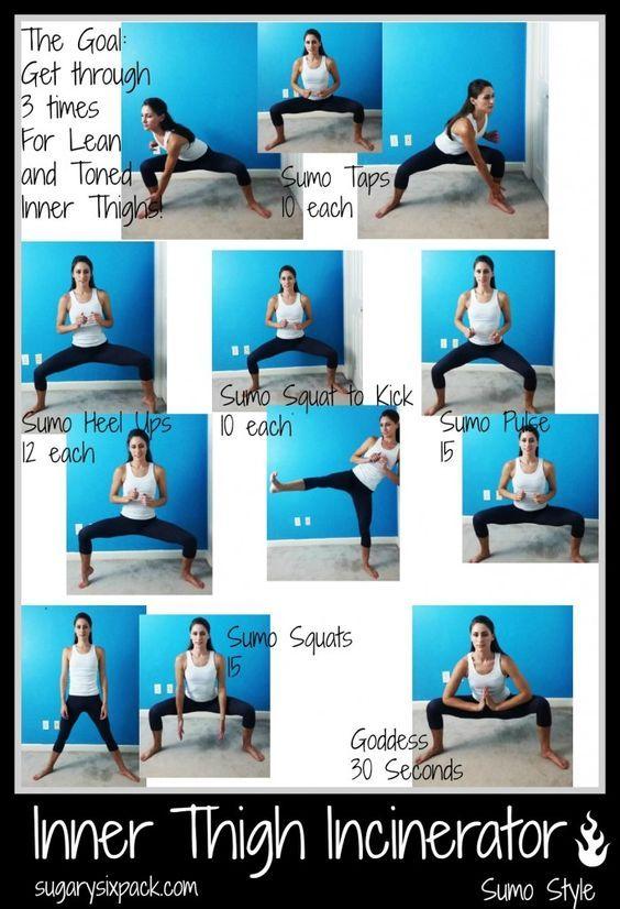 Inner Thigh Wokout