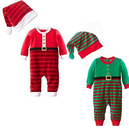 Weihnachten mit Baby - Weihnachtskostüm