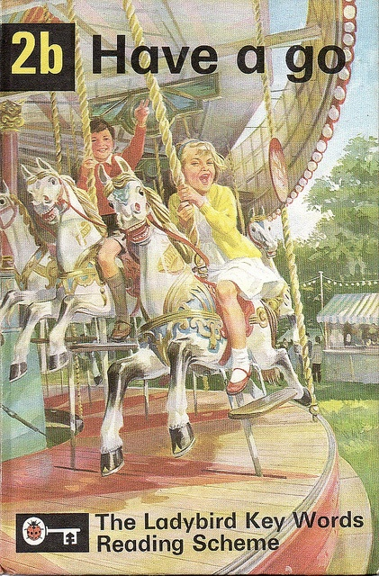 2B HERE WE GO by My Vintage Ladybird Books, via Flickr