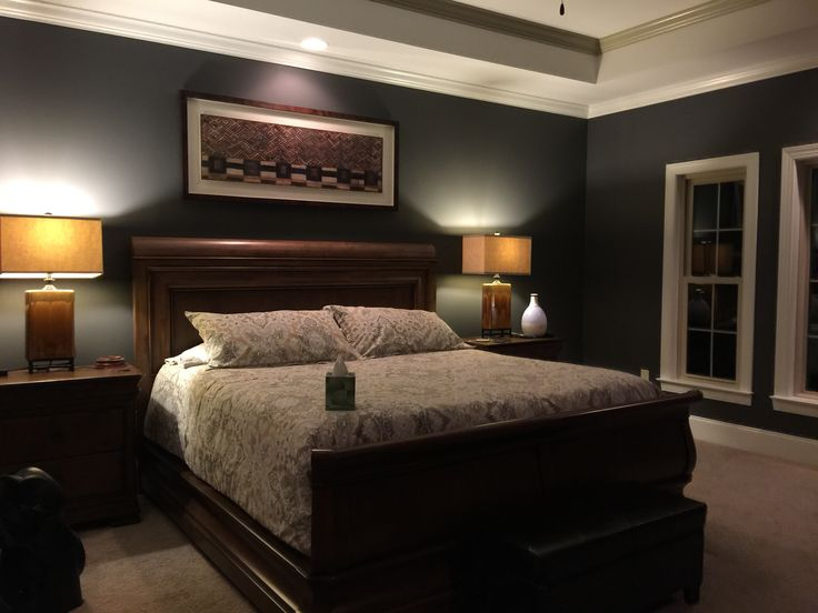 Our Bedroom Peppercorn Sherwin Williams