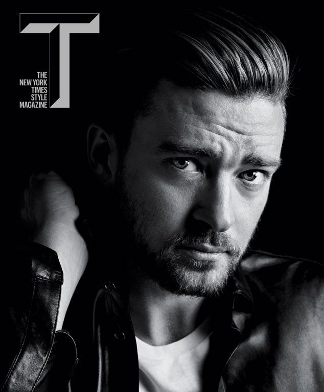 Justin Timberlake is looking as hot as ever on the cover of T, The New York Times style magazine.