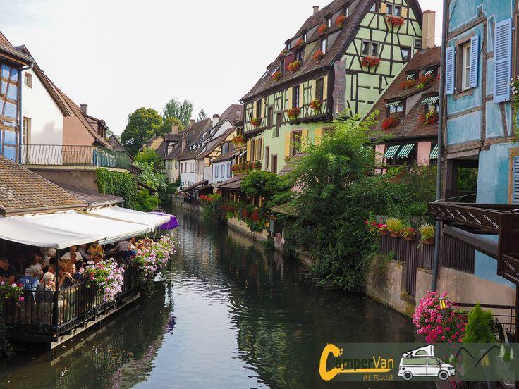 Colmar, la capital del vino de la Alsacia