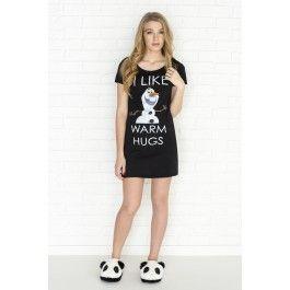 Jaquette graphique noire I Like Warm Hugs