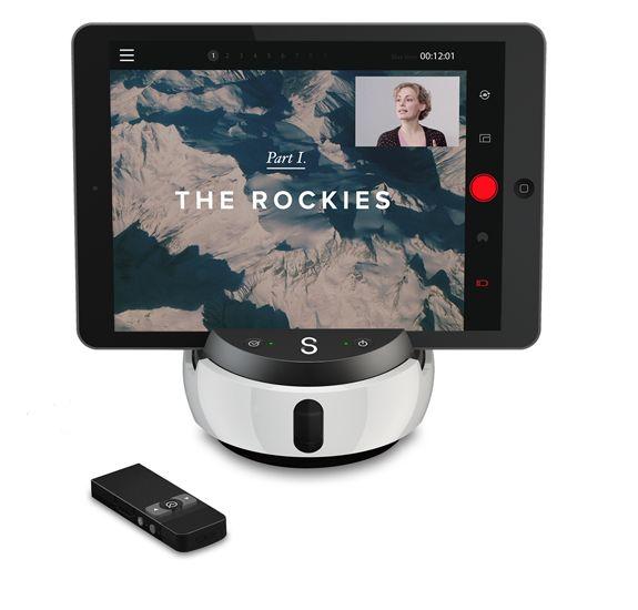 Swivl - ett stativ där du kan fästa t.ex. din padda när du ska göra alla de där filmerna till ditt flippade klassrum.