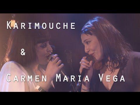Karimouche & Carmen Maria Vega - La tendresse (Bourvil) - Live @ Le Pont des Artistes