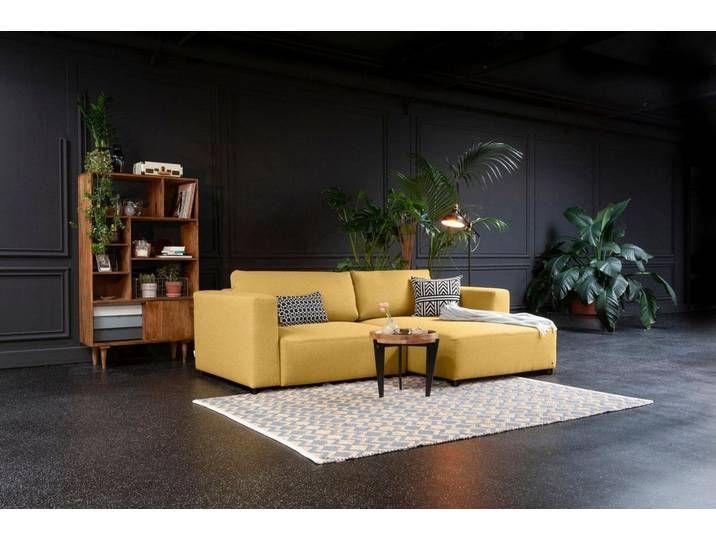 Tom Tailor Eck Couch Gelb 242cm Recamiere Rechts Heaven Style S In 2020 Sofa Aussencouch Ecksofa