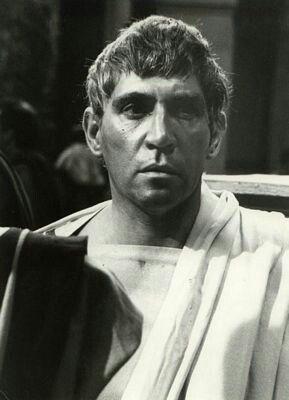 """Frank Finlay (1926-2016) As Cassius in """"Julius Caesar"""""""