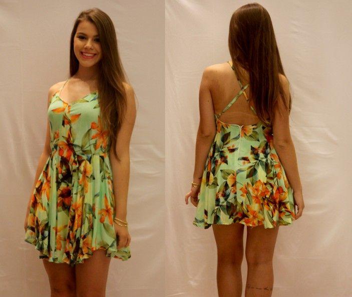 Magrinha de vestido soltinho up dress panties pink 251 5