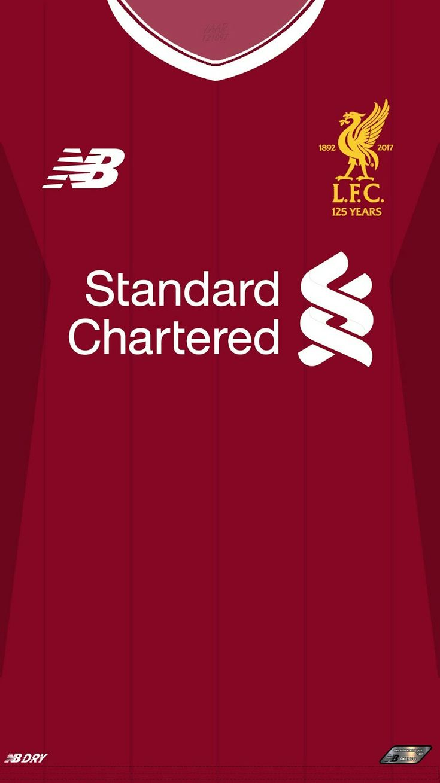 Liverpool 17-18 kit home