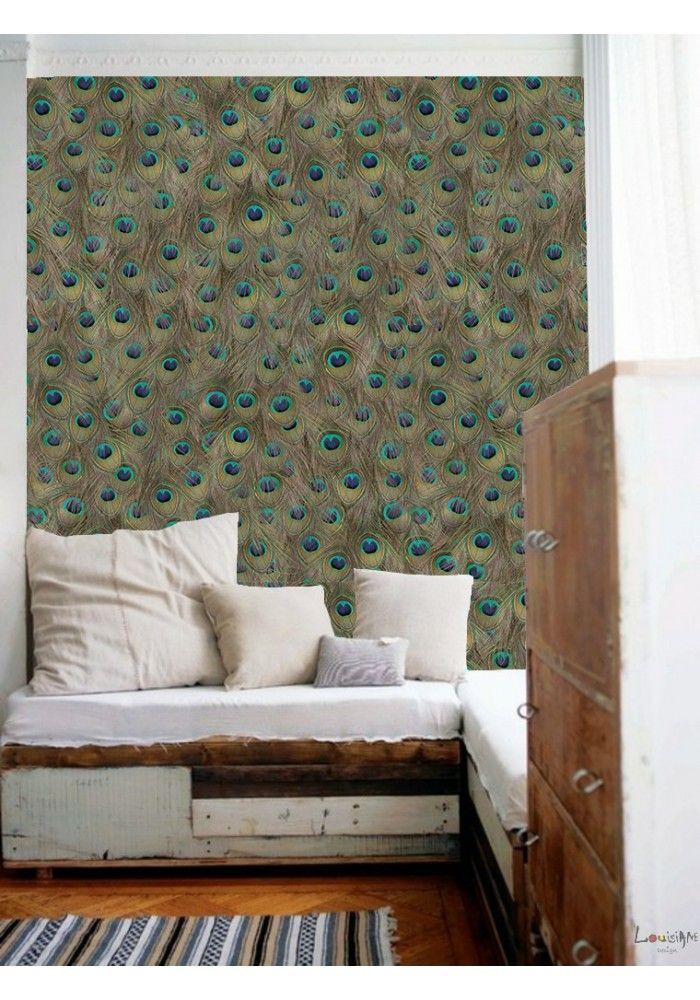 17 meilleures id es propos de papier peint chambre adulte sur pinterest decoration chambre. Black Bedroom Furniture Sets. Home Design Ideas