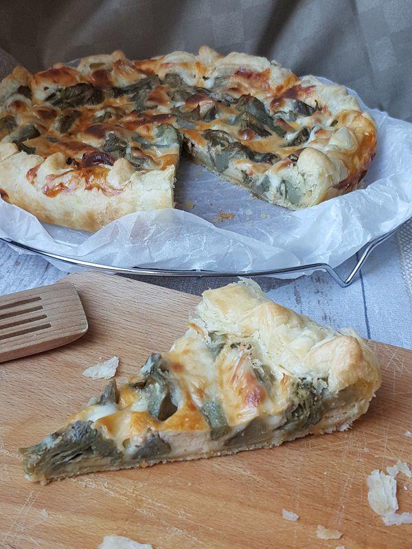 #tortasalata ai #carciofi #ricetta #recipes  #recipe #italianrecipe