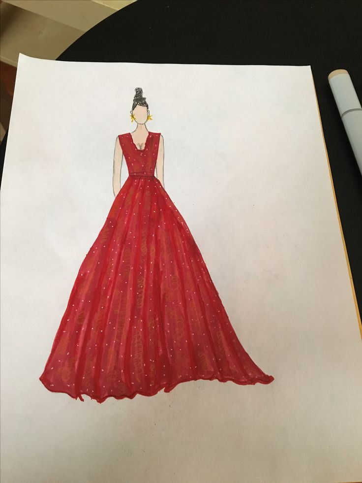 Ball gown 🤗 | My Fashion Sketches | Pinterest | Fashion sketches ...