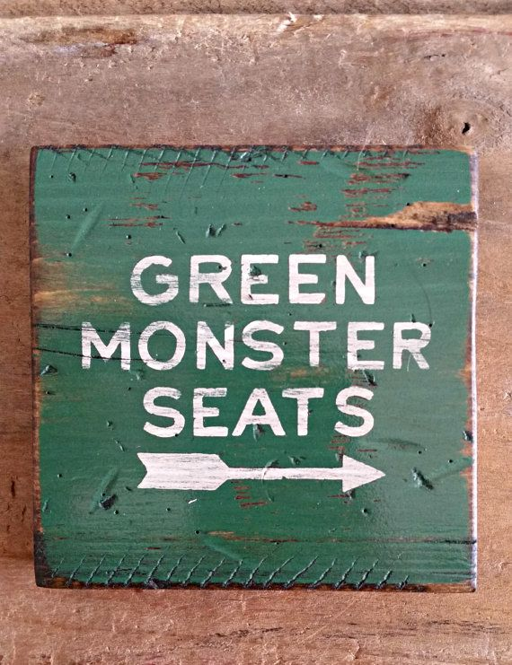 Check out this item in my Etsy shop https://www.etsy.com/listing/210737633/green-monster-boston-red-sox-fenway-park