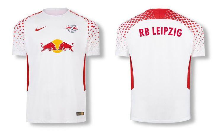 Camisas do RB Leipzig 2017-2018 Nike   Mantos do Futebol Camisas de Futebol