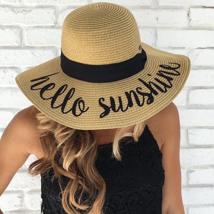 floppy beach hats - photo #35