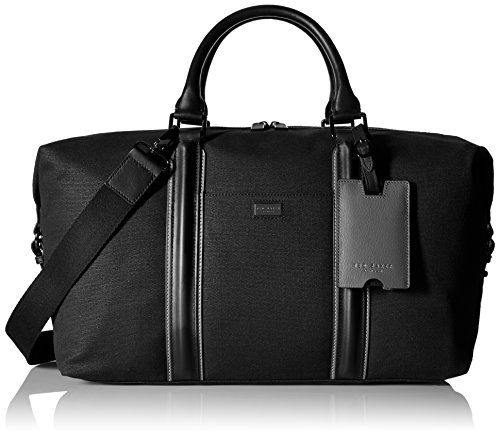 Ted Baker Men's Canvas and Leather Holdall Bag