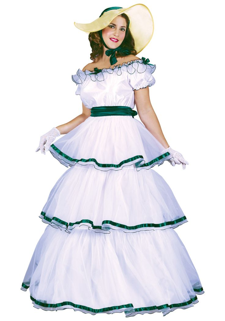The Southern belle dress