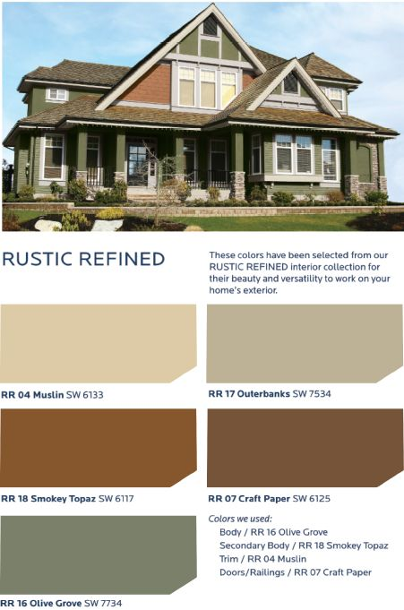 Get A Down To Earth Feel Inspired By Sun Baked Adobe Italian Stucco And Sandstone With The Hgtv Home Sherwin Williams Rustic