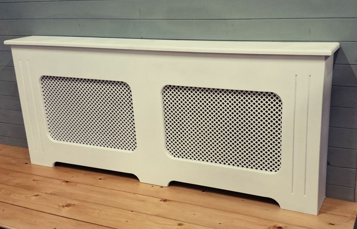 Radiator covers  Made to order, pre-primed white ready for painting.